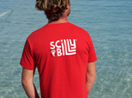 Men's Scilly Billy Tee - Red