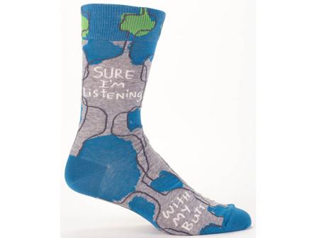 Men's Socks Im Listening BQSW825
