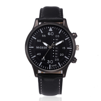 Mens Stylish Watch - Black