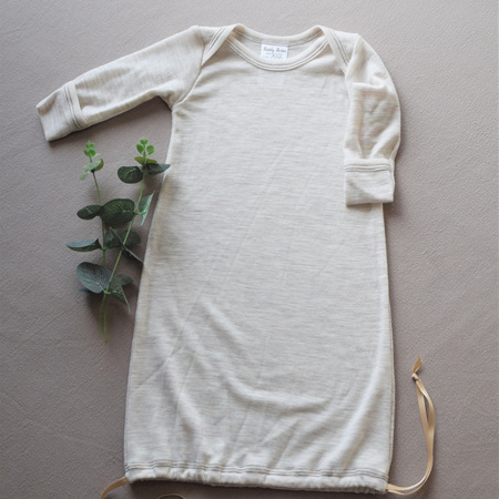 Merino Baby Gown - Size 000