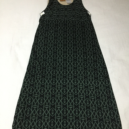 Merino & Cotton Sleep Bag - Dark Green with Beige - 6 mths to 3 yrs