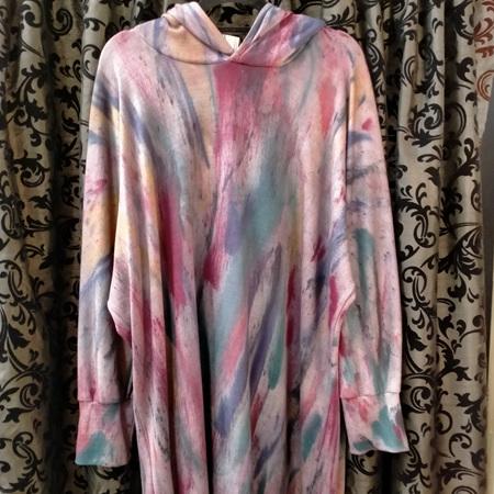 Merino Hoody - Rainbow Coloured