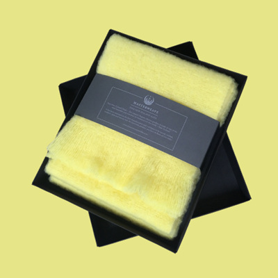 Merino Scarf - Lemon Sorbet