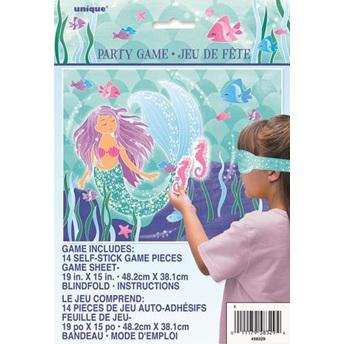 Mermaid blindfold game