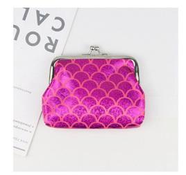 Mermaid Coin Purse - Hot Pink