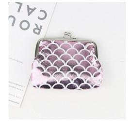Mermaid Coin Purse - Light  Pink