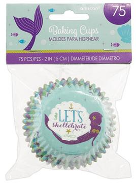 mermaid cupcake cases - 75