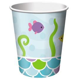 Mermaid cups x 8