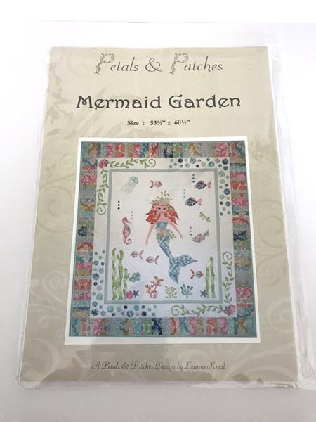 Mermaid Garden Applique Quilt Pattern