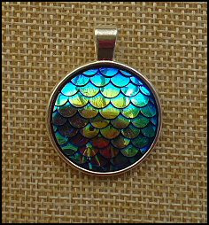 Mermaids Glass Dome Necklaces