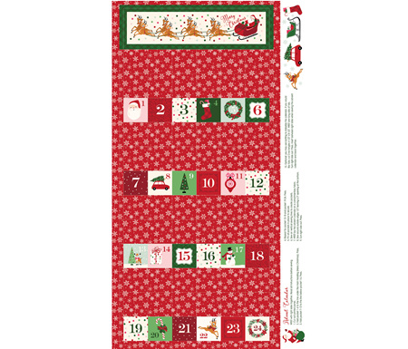 Merry and Bright Advent Calender Panel