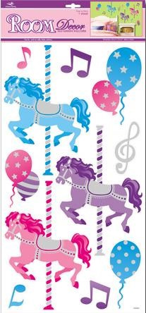 Merry Go Round Removable Wall Stickers