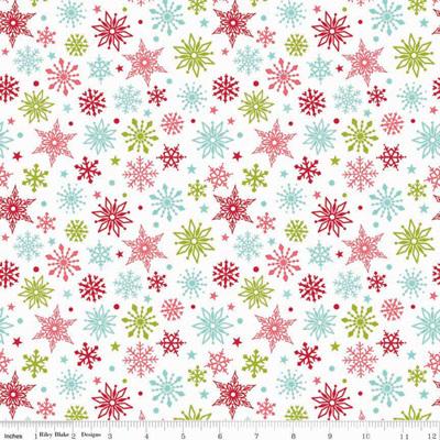 Merry Matryoshka - Snowflakes