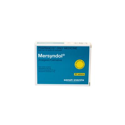 Mersyndol Tablets