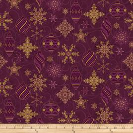 Metallic Christmas Ornaments 4596002
