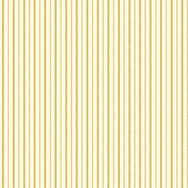 Metallic Stripes Cream/Gold 772407