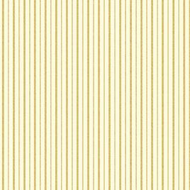 Metallic Stripes Cream/Gold 772407