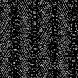 Metallic Wave Black/Silver 772112