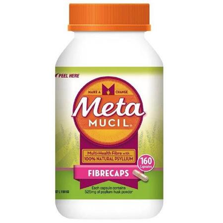 METAMUCIL FIBRECAPS 160 CAPS