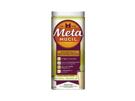 METAMUCIL Natural Granular 72 Dose