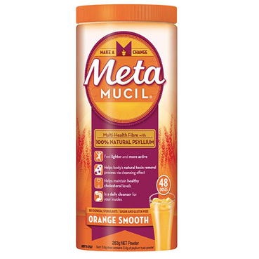 METAMUCIL SMOOTH ORANGE 283G 48 DOSES
