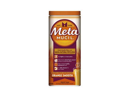 METAMUCIL Smooth Orange 72 Dose
