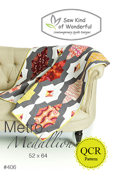 Metro Medallion Quilt Pattern from Sew Kind of Wonderful