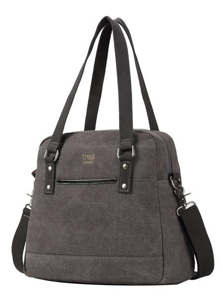 Metro Shoulder Bag - Charcoal - CTRP0506BK