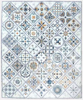 Metro Tiles by Susan Claire - Gourmet Quilter