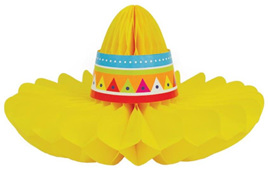 Mexican Honeycomb Sombrero