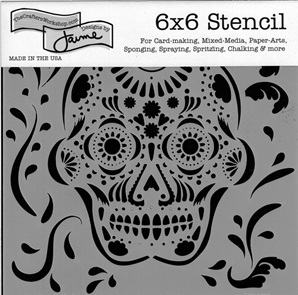 Mexican Skull 6 x 6