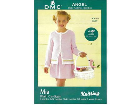 Mia Cardigan Angel Pattern