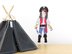 Michael's Pirate Costume dress up doll wall decal