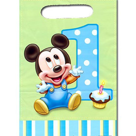 Mickey 1st Birthday Loot bags