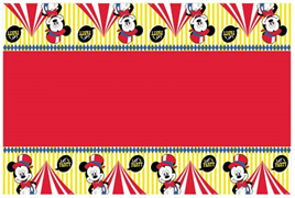 Mickey carnival theme tablecover.