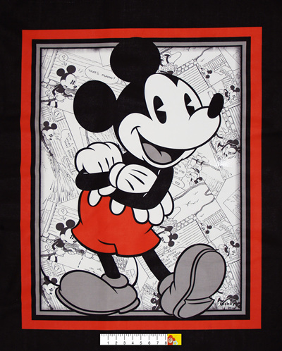 Mickey Comic Strip Panel