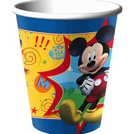 Mickey Fun & Friends - Cups x 8