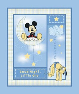 Mickey Good Night Panel