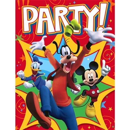 Mickey & Goofy Invites