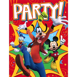 Mickey & Goofy Invites