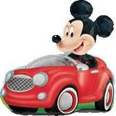 Mickey Mouse Clubhouse Super shape Foil Balloon - CAR