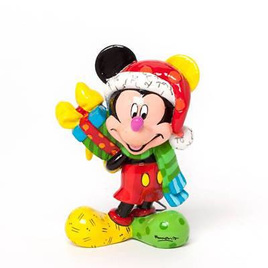 Mickey Mouse Mini Santa Figurine