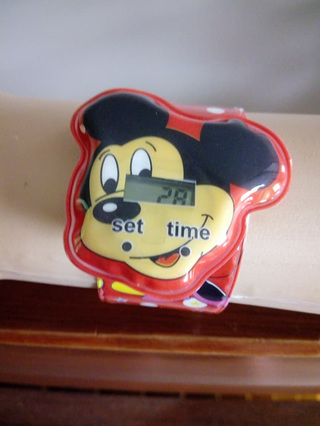 Mickey Mouse Snap Watch