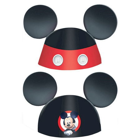 Mickey on the go paper ears x 8