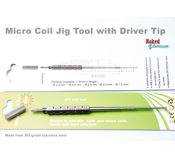 Micro Coil Jig Tool with Driver Tip
