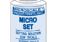 Micro Set Solution 1oz. Bottle (Decal Setting Solution/Remover)