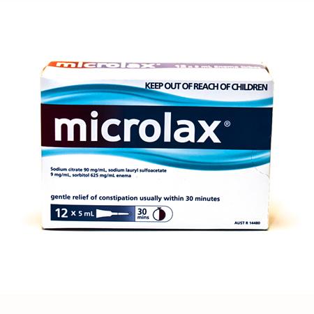 Microlax 5ml Enema Tubes