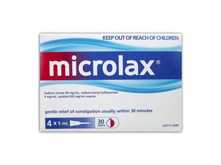 MICROLAX Micro enemas 4pk