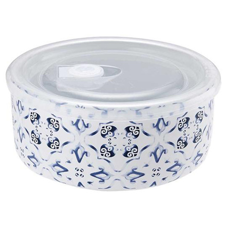 Microwave Food Prep 16cm -Marbella Blue