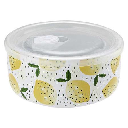 Microwave Food Prep 16cm -Marbella Lemon